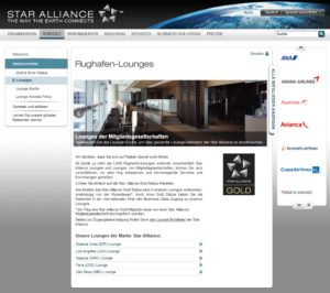 Star Alliance Lounges